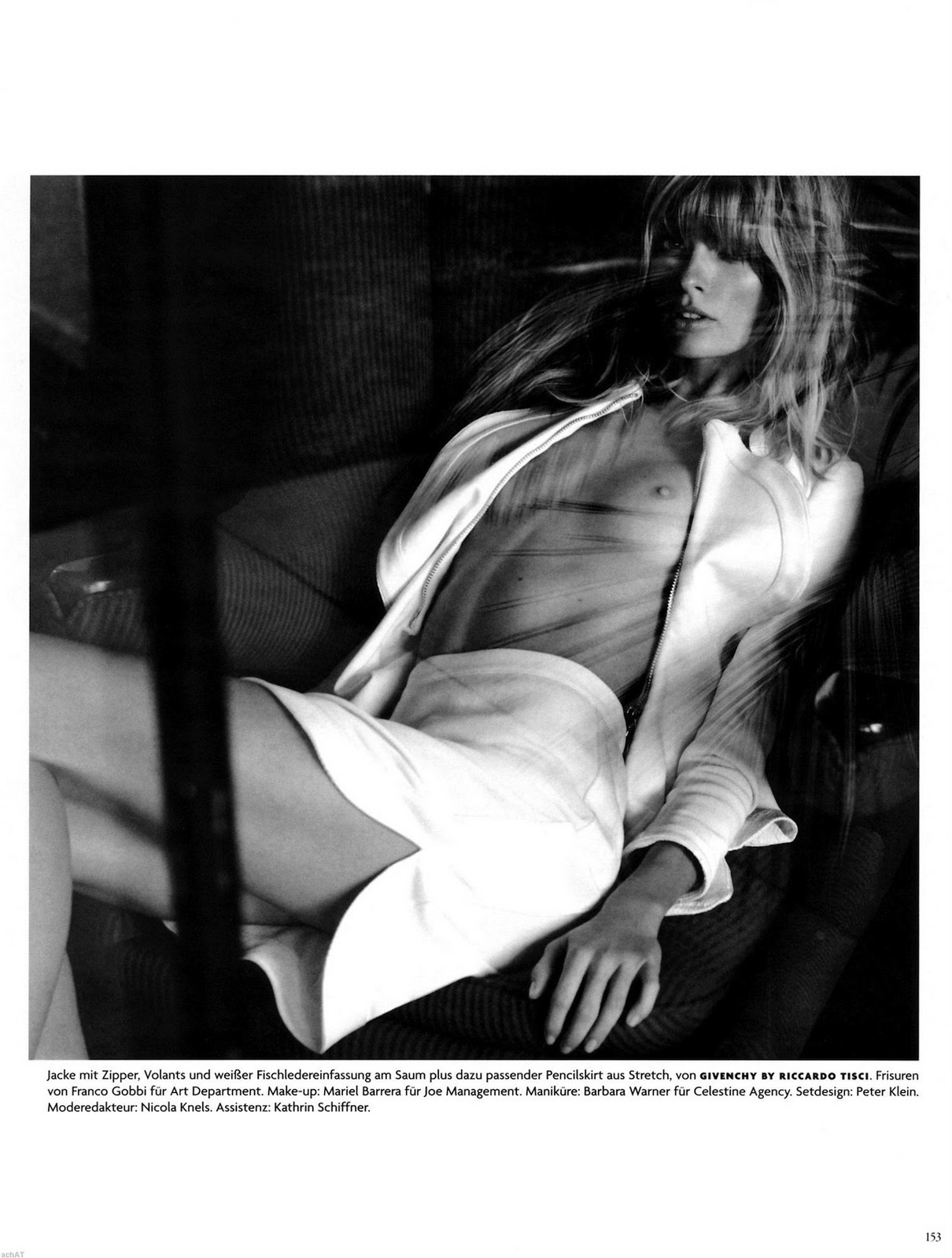 Julia Stegner in Vogue 2