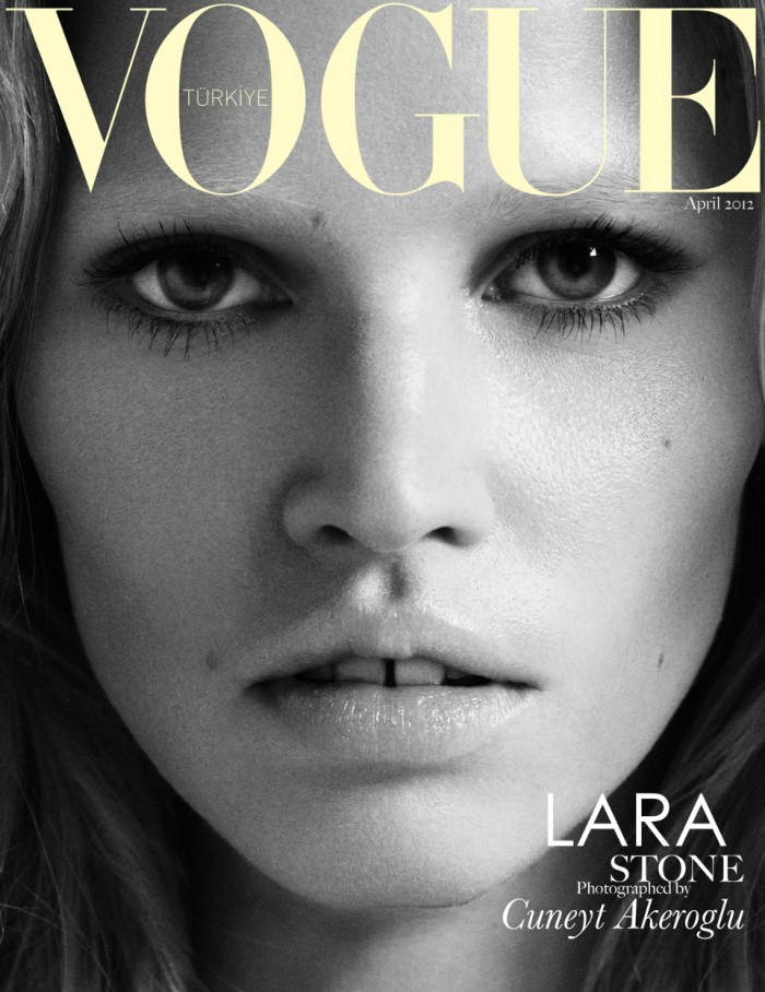Lara Stone Vogue Turkey