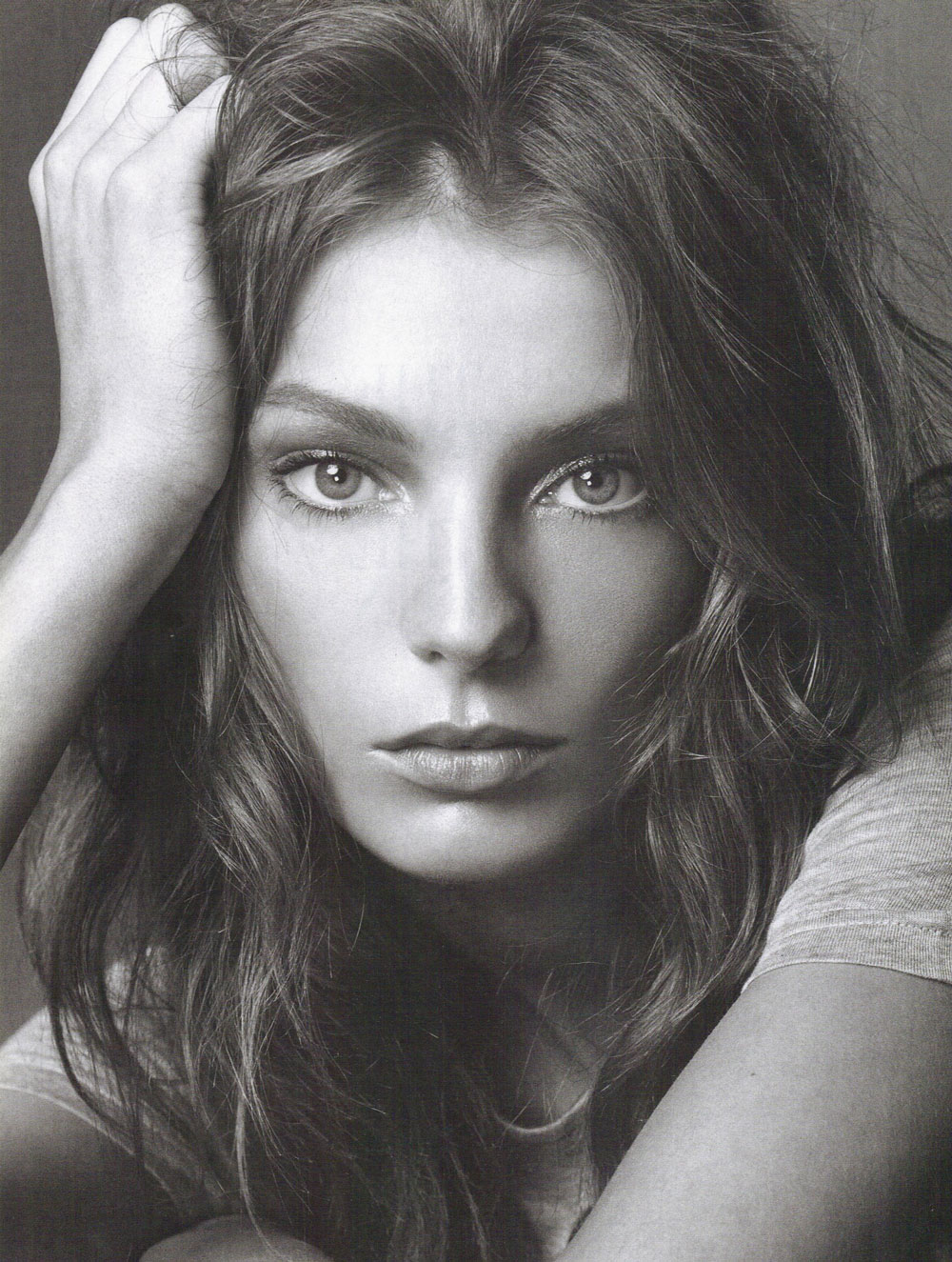 Daria Werbowy in Vogue Italia May 2004