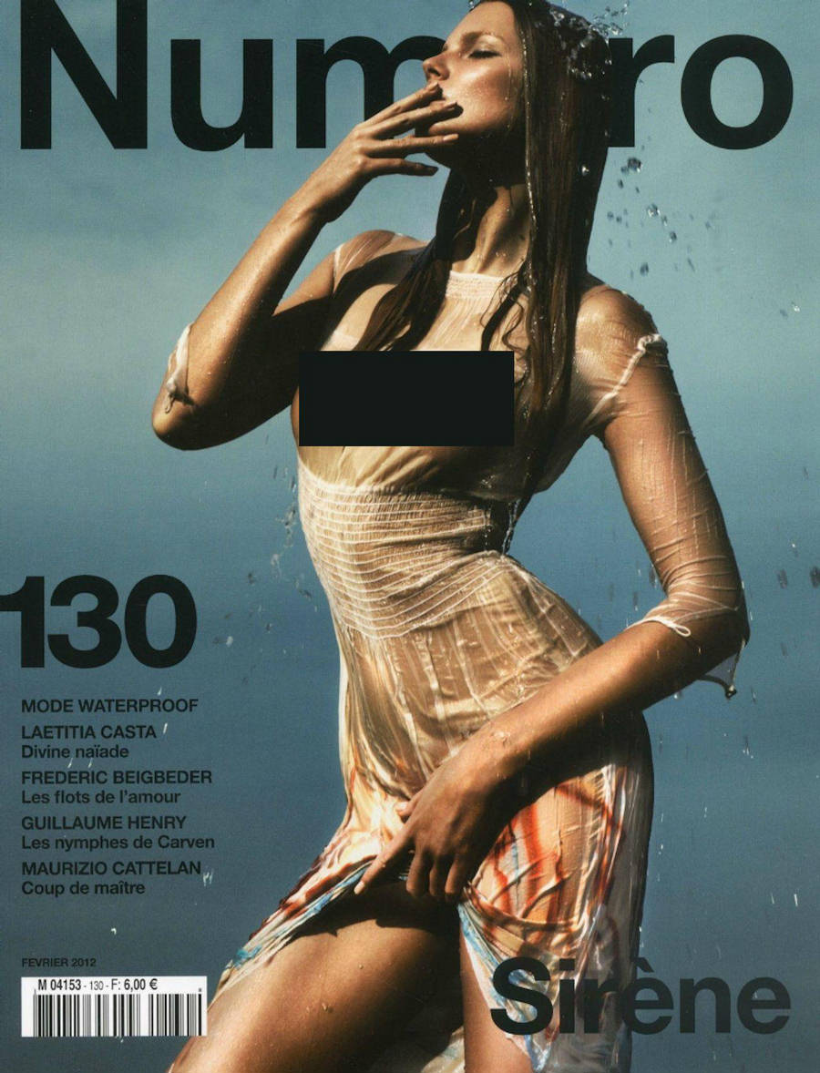 Eniko Mihalik Numero Magazine February 2012