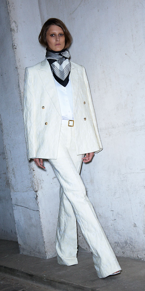 Celine Spring 2013 all white look