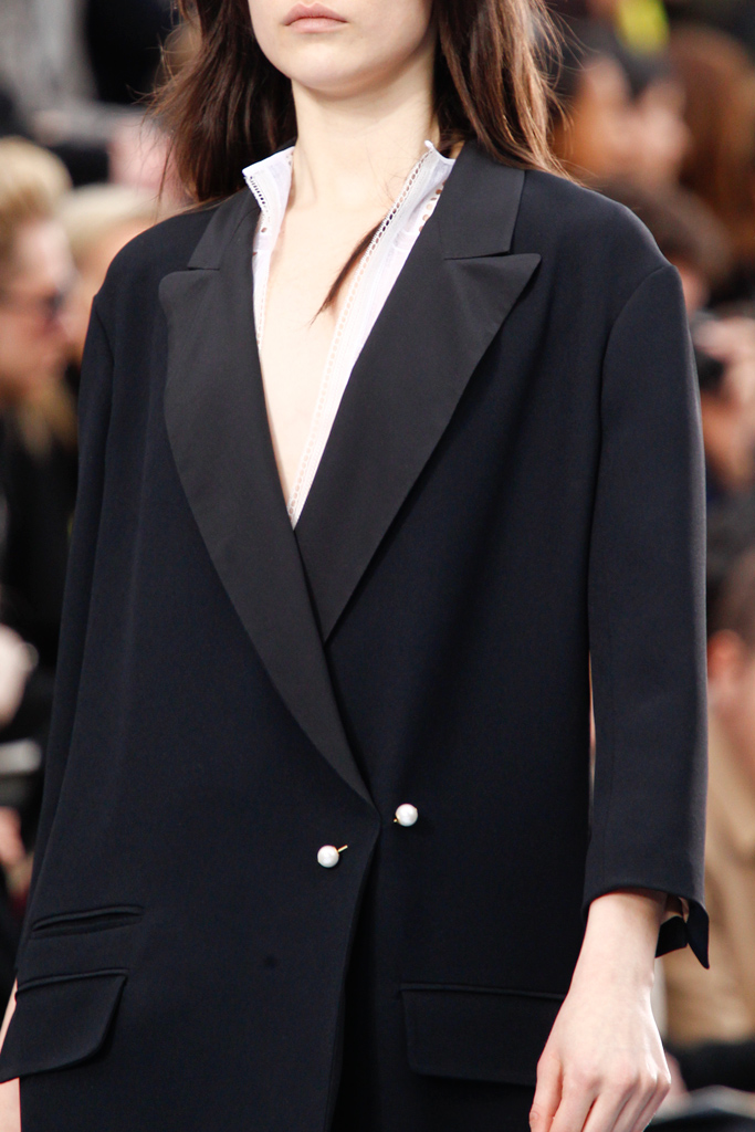 Chloé RTW Fall 2012 suit