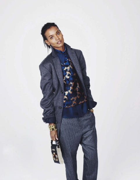 ELLE France December 2012 feature Liya Kebede-5