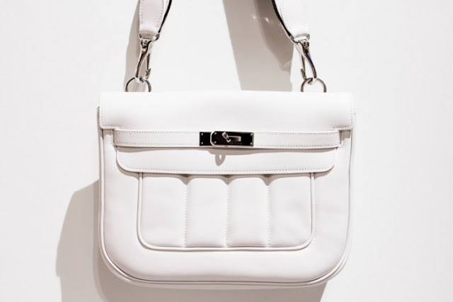 Hermes Berline bag white