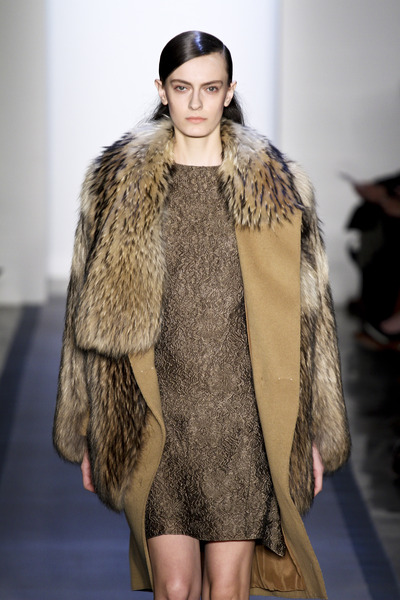 Peter Som Fur Fall 2012 Collection