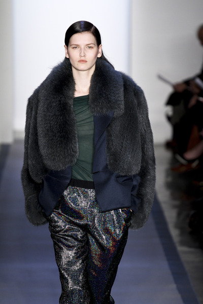 Peter Som fur coat fall 2012-2