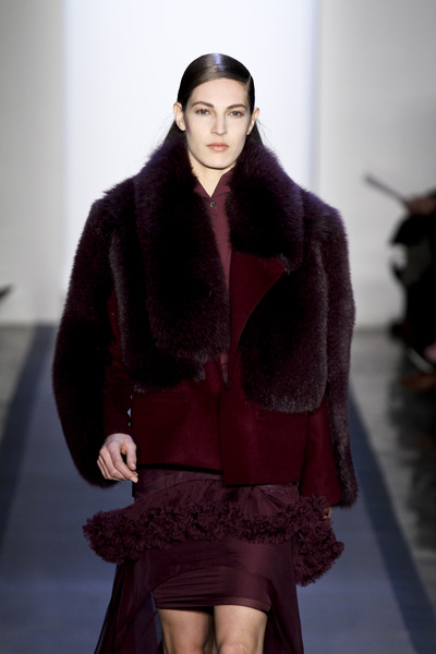 Peter Som fur coat fall 2012-3