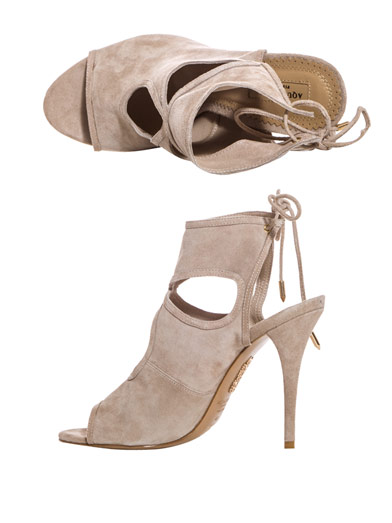 Aquazzura sexy think suede sandals