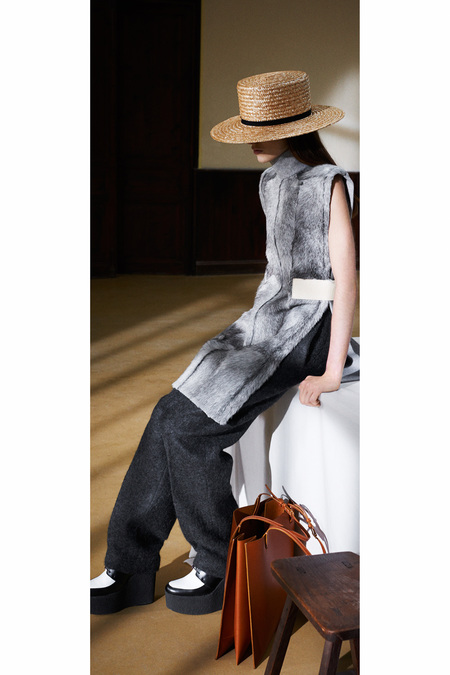 Céline Pre-Fall 2013 hat and bag