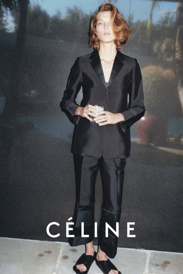 Celine ad campaign spring 2013