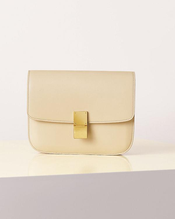 Celine Spring Summer 2013 leather box bag yellow