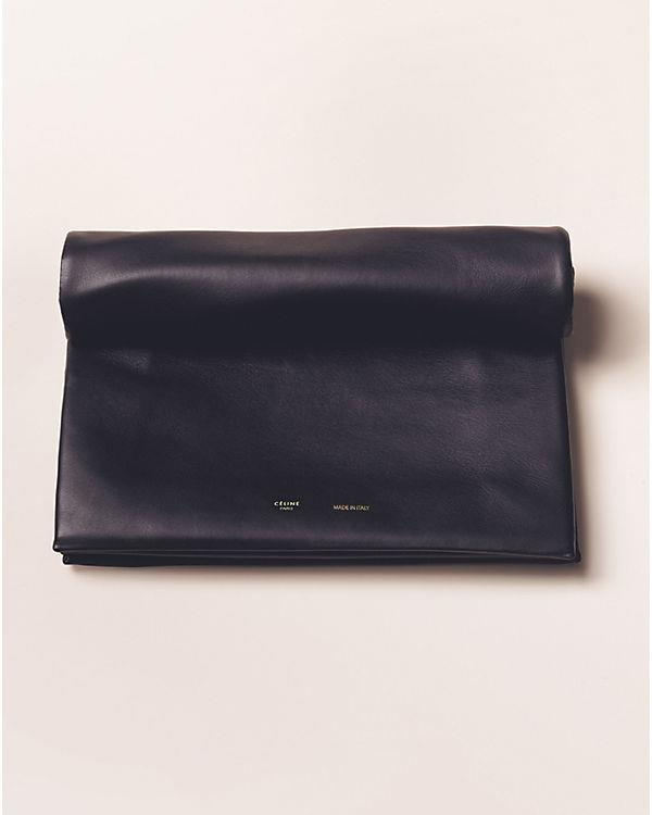 Celine Spring Summer 2013 leather clutch black