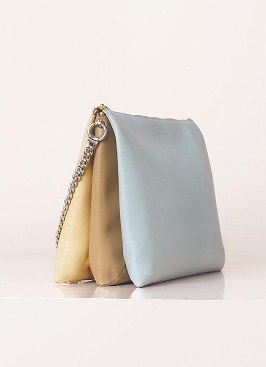Céline Spring Summer 2013 leather clutch shoulder bag