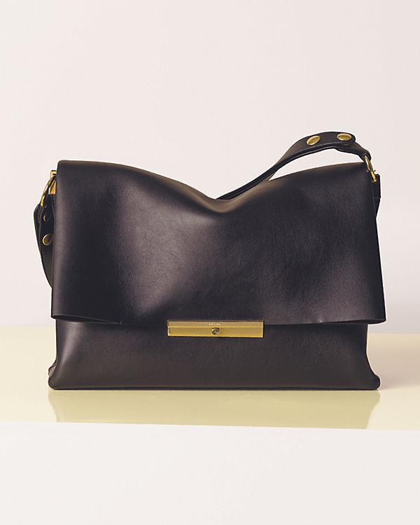 Celine Spring Summer 2013 leather shoulder bag in black