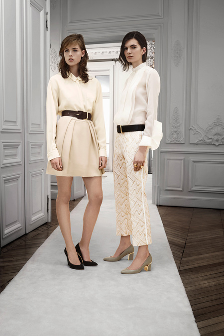 Chloé Pre-Fall 2013. all white