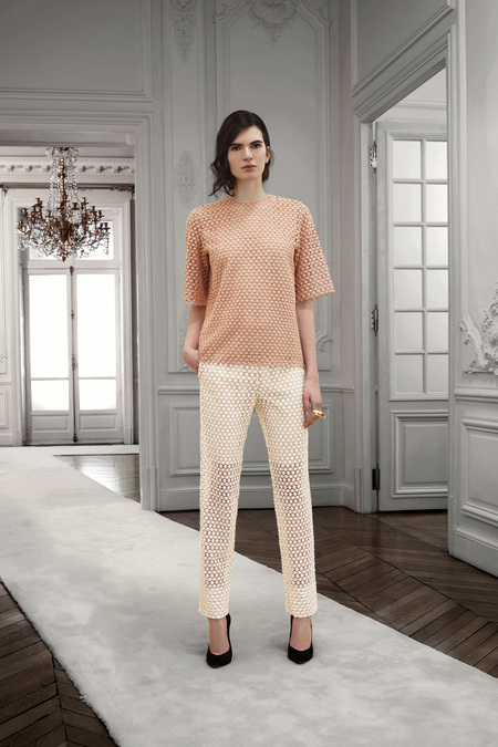 Chloe Pre-Fall 2013. apricot