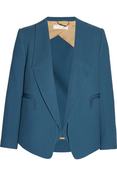 Chloe wool-crepe blazer