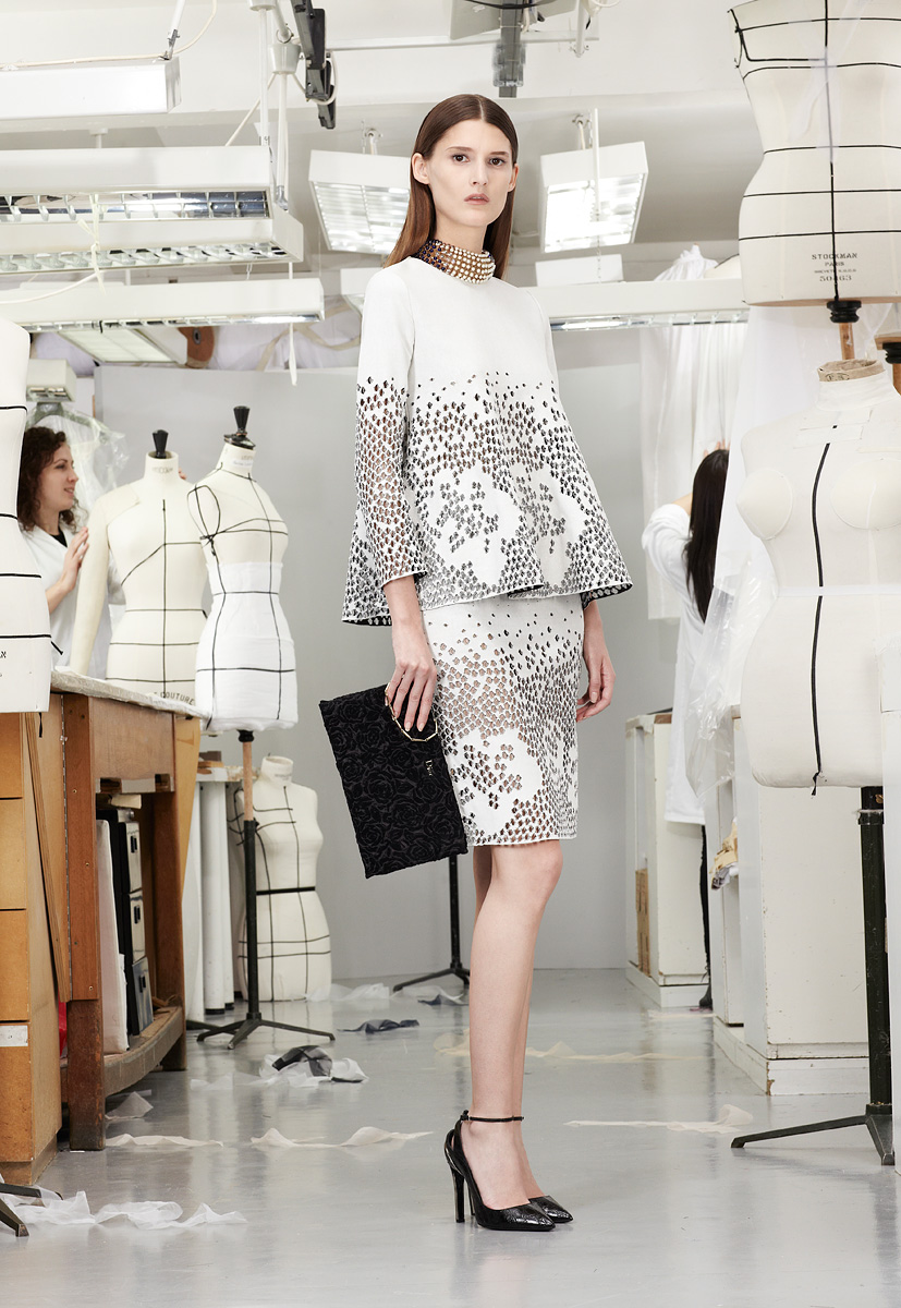 Christian Dior Pre-fall 2013 white