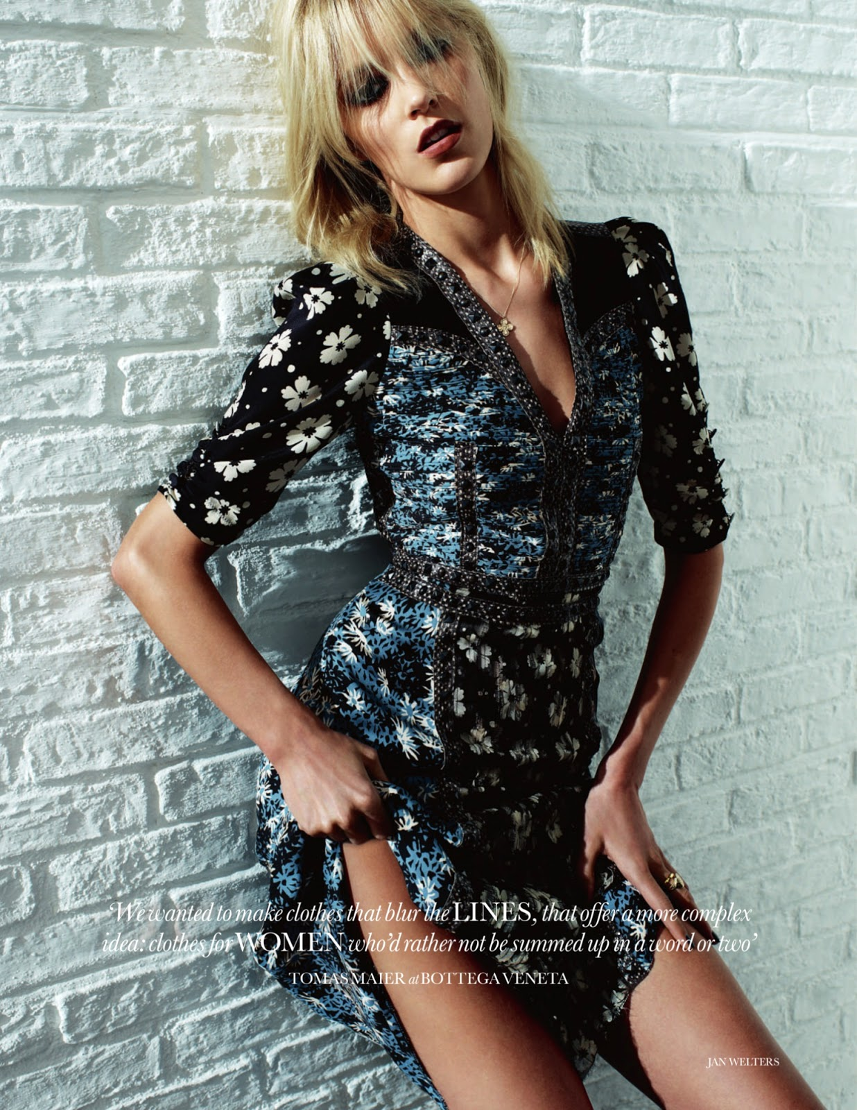 ELLE UK February 2013 by Jan Welters 'The Pieces You Need Now'-9