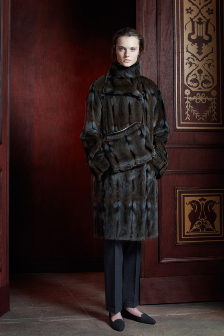 The Row Pre-Fall 2013 mink fur