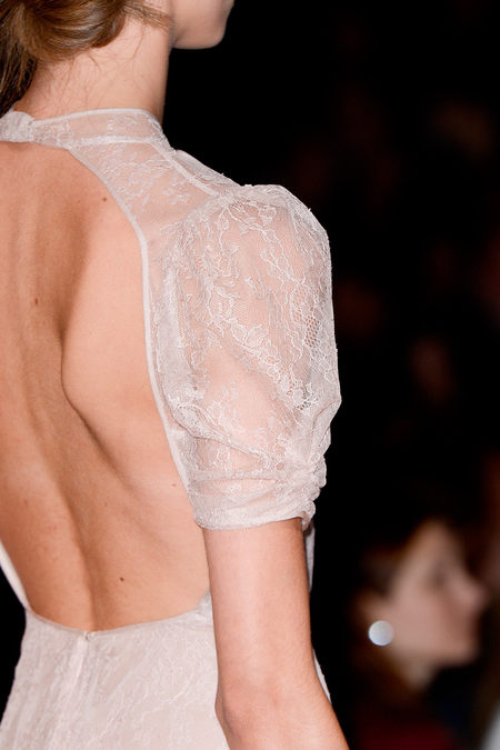Valentino Spring 2013 bare back