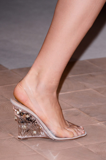 Valentino see-through slingback spring 2013