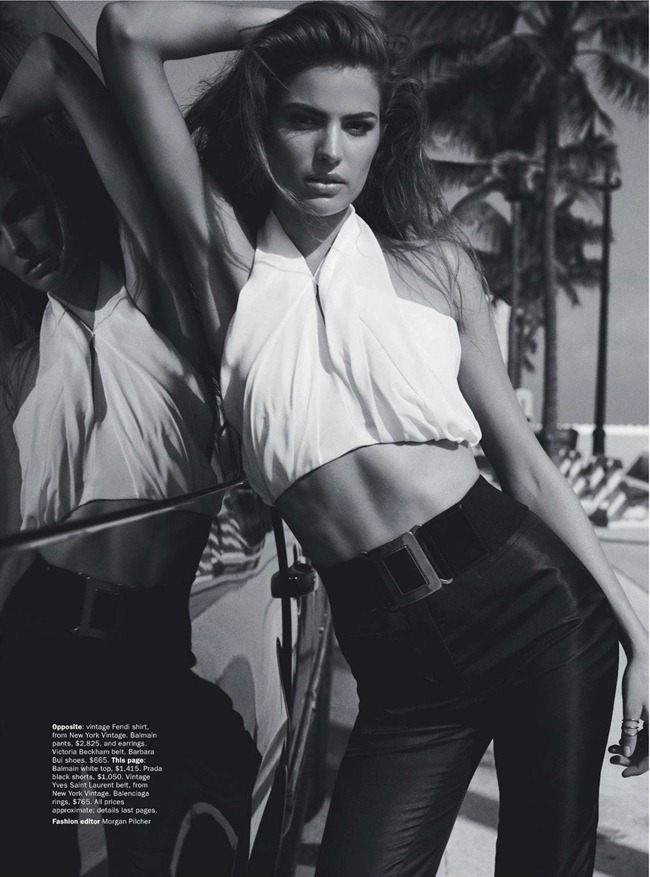 Vogue Australia February 2013 Miami Heat-5