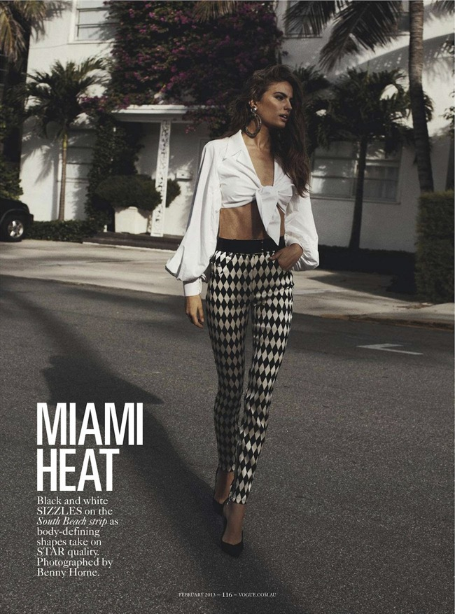 Vogue Australia February 2013 Miami Heat