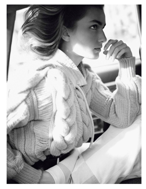 Vogue Paris February 2013 by David Sims -Andreea Diaconu-6
