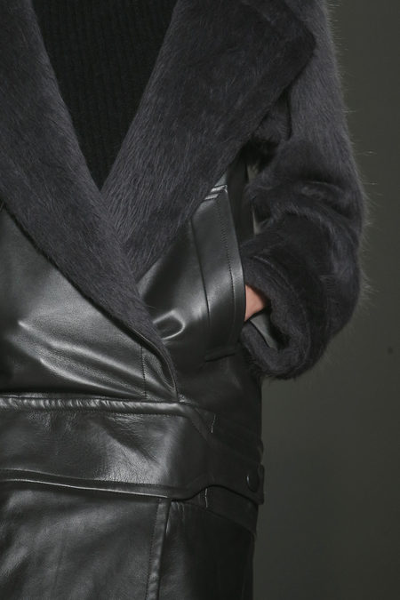 Alexander Wang Fall 2013 collection coat