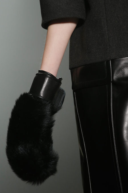 Alexander Wang Fall 2013 collection gloves