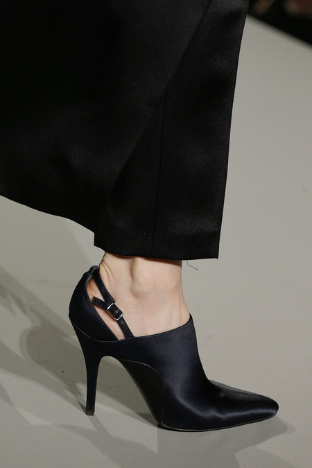 Alexander Wang Fall 2013 collection satin shoe
