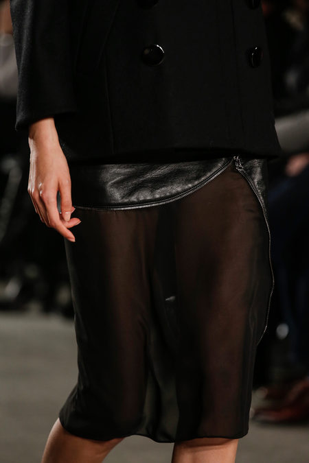 Altuzarra Fall Winter 2012 sheer skirt