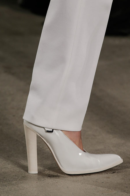 Altuzarra Fall Winter 2012 white shoes