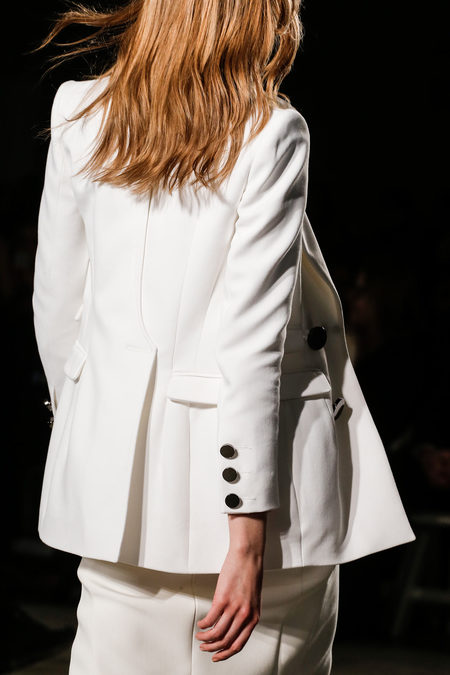 Altuzarra Fall Winter 2012 white suit