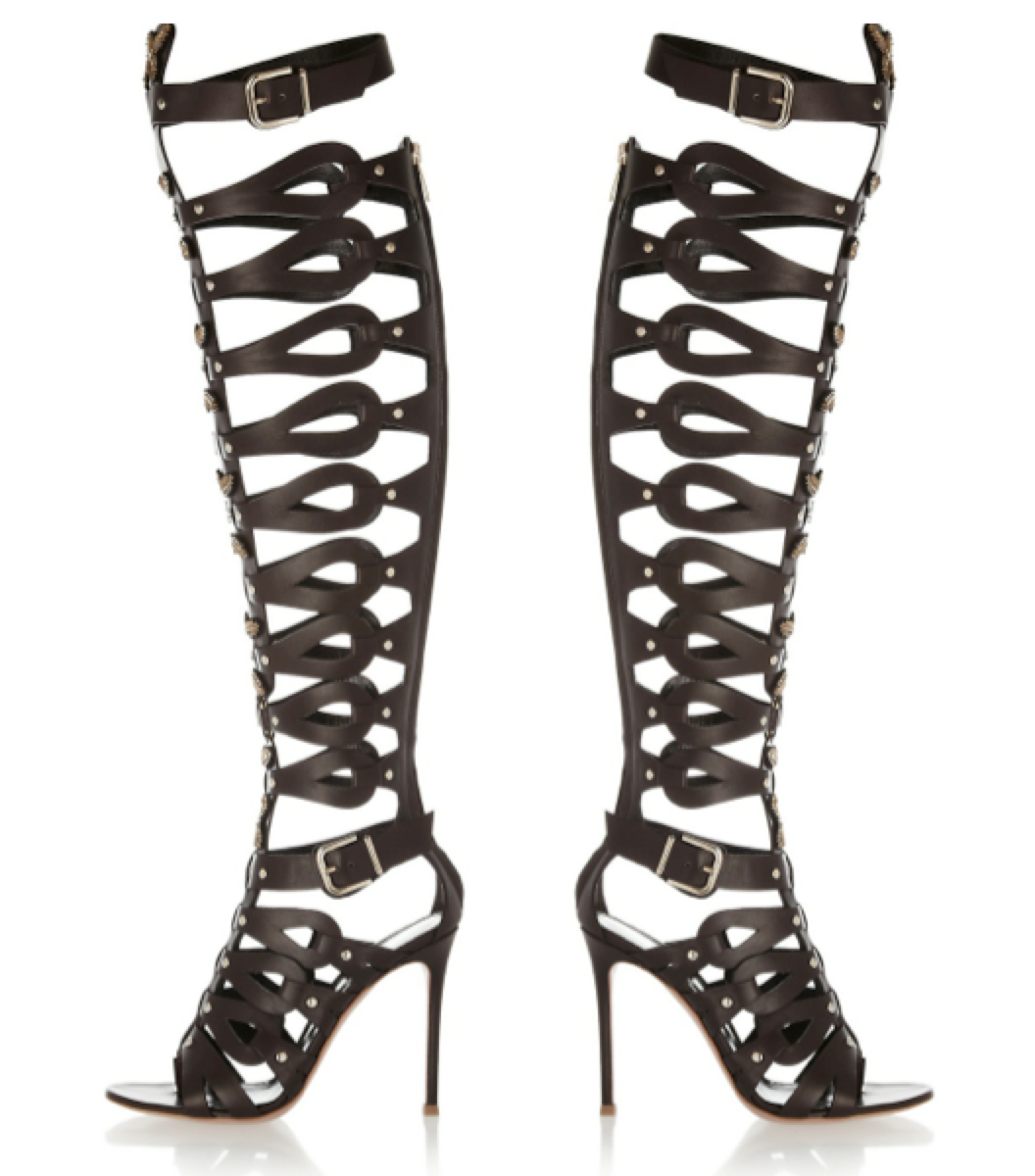 Altuzarra embellished leather cage sandals