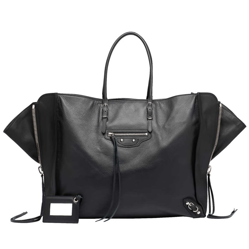 Balenciaga Papier zip around hand bag