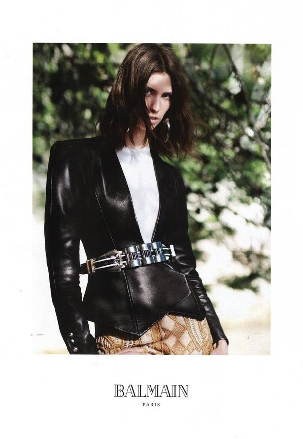 Balmain Ad Campaign 2013 by Joe McKenna &amp; David Sims