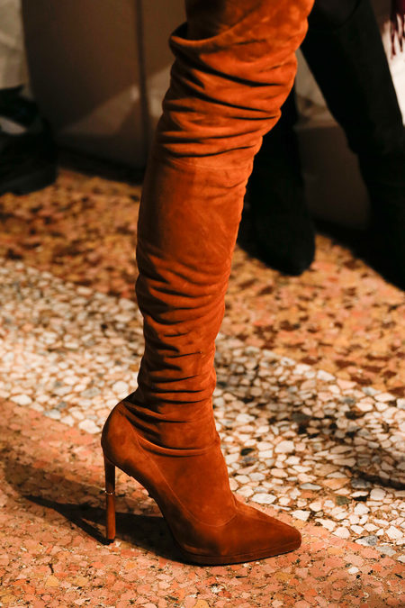 Emilio Pucci Fall 2013 suede boots