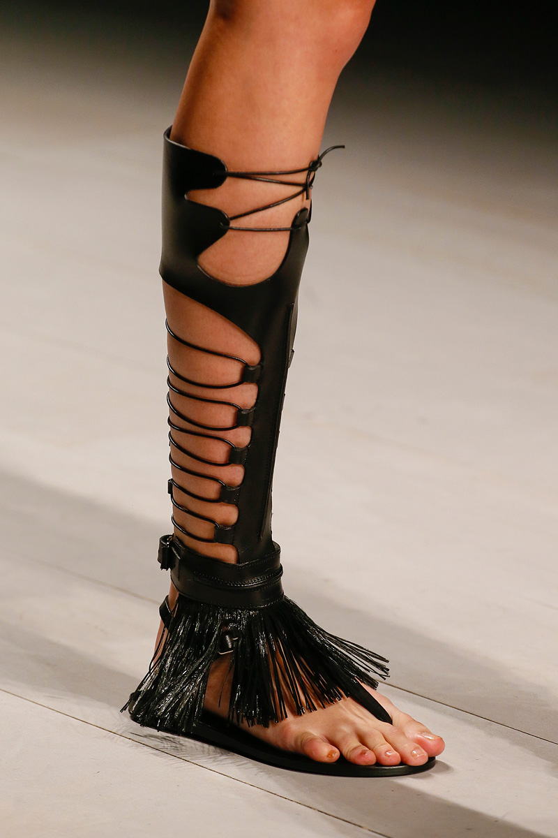 Marios Schwab Rtw Spring 2013 gladiator sandals