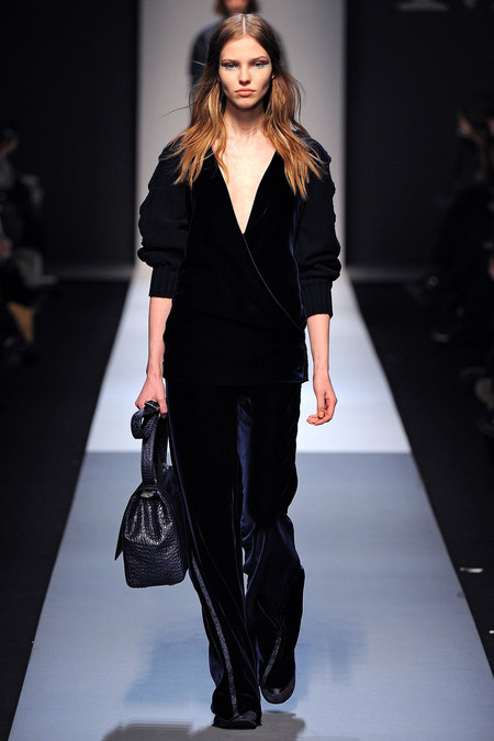 Max Mara Fall 2013 black look