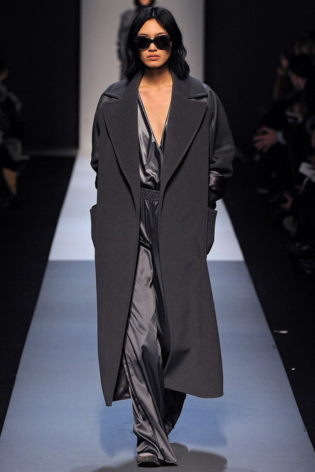 Max Mara Fall 2013 grey look