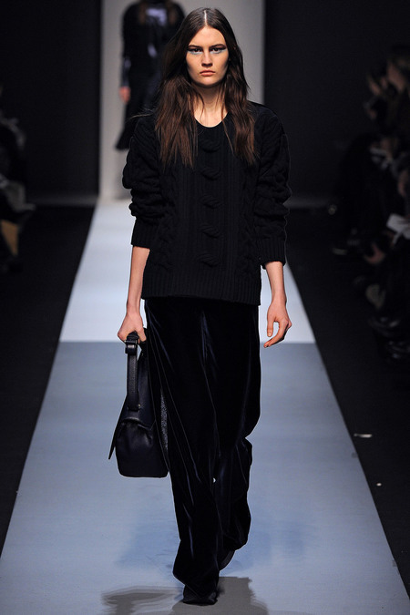 Max Mara Fall 2013 velvet pants