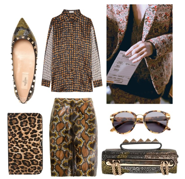 On my mind - Pattern prints, animal and camouflage &amp; military