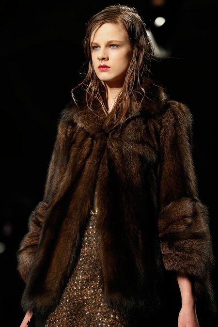 Prada Fall 2013 mink fur
