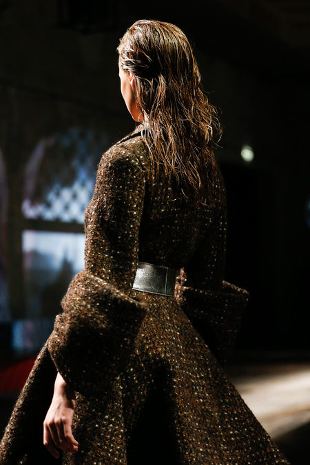 Prada Fall 2013 slickback
