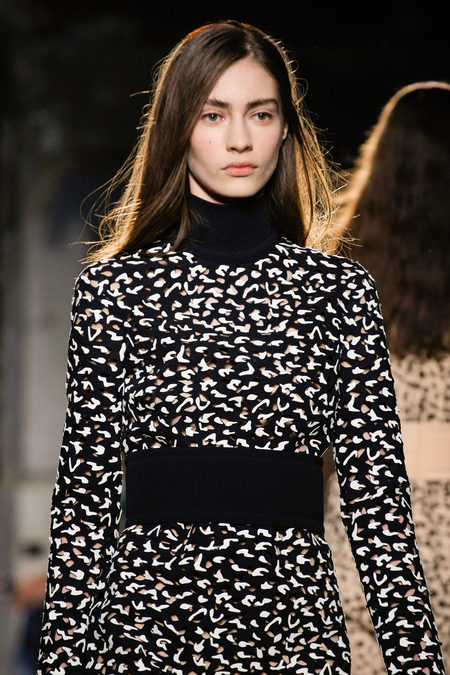 Proenza Schouler Fall Winter 2013 black and white