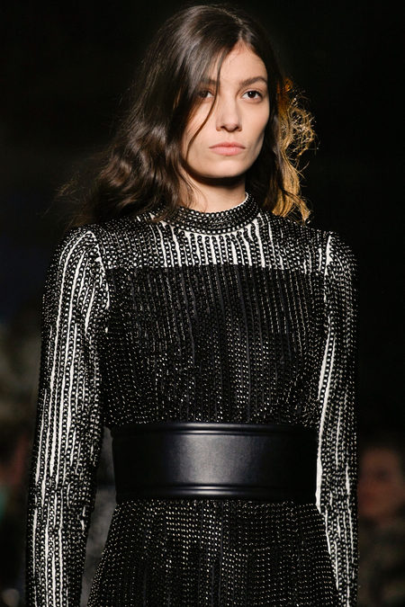 Proenza Schouler Fall Winter 2013 chain dress