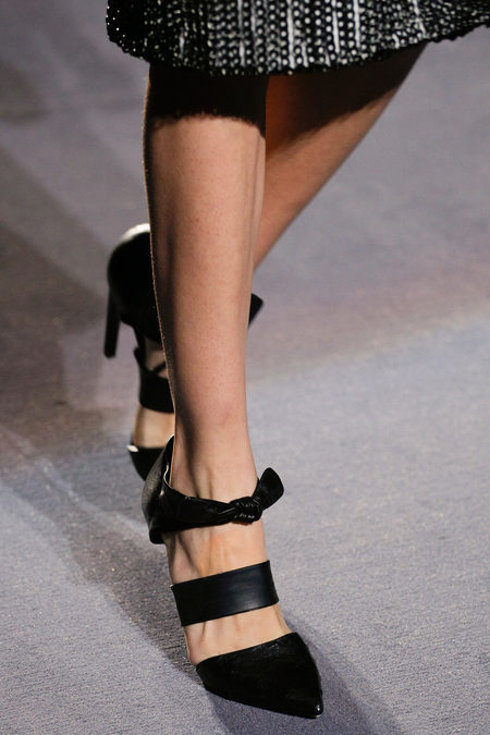Proenza Schouler Fall Winter 2013 knotted shoes