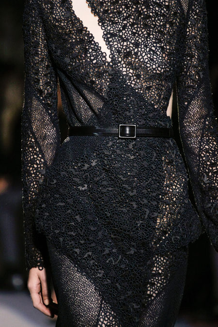 Proenza Schouler Fall Winter 2013 lace dress